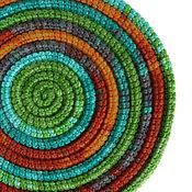 Украшения ручной работы. Ярмарка Мастеров - ручная работа Украшение на шею Lasso Tropic вязаный шарф колье бусы. Handmade.