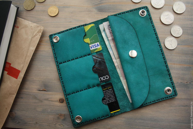 Wallet genuine leather, Wallets, Volgograd,  Фото №1