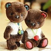 Куклы и игрушки ручной работы. Ярмарка Мастеров - ручная работа Миша и Маша.. Handmade.