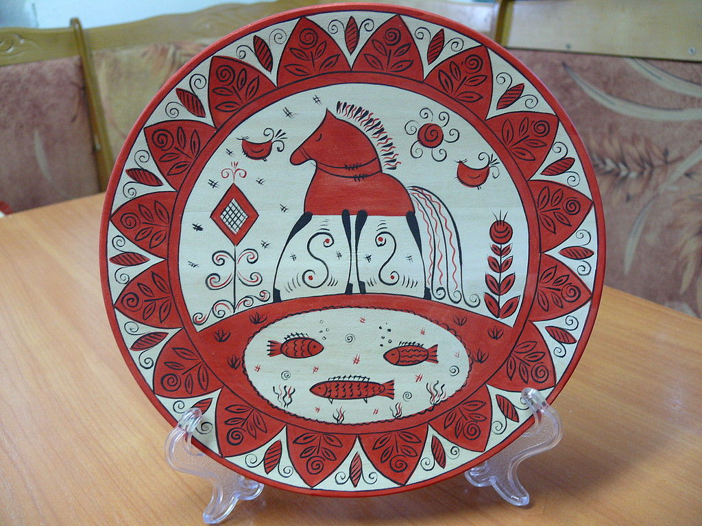 декоративная тарелка, Тарелки, Кунгур, Фото №1