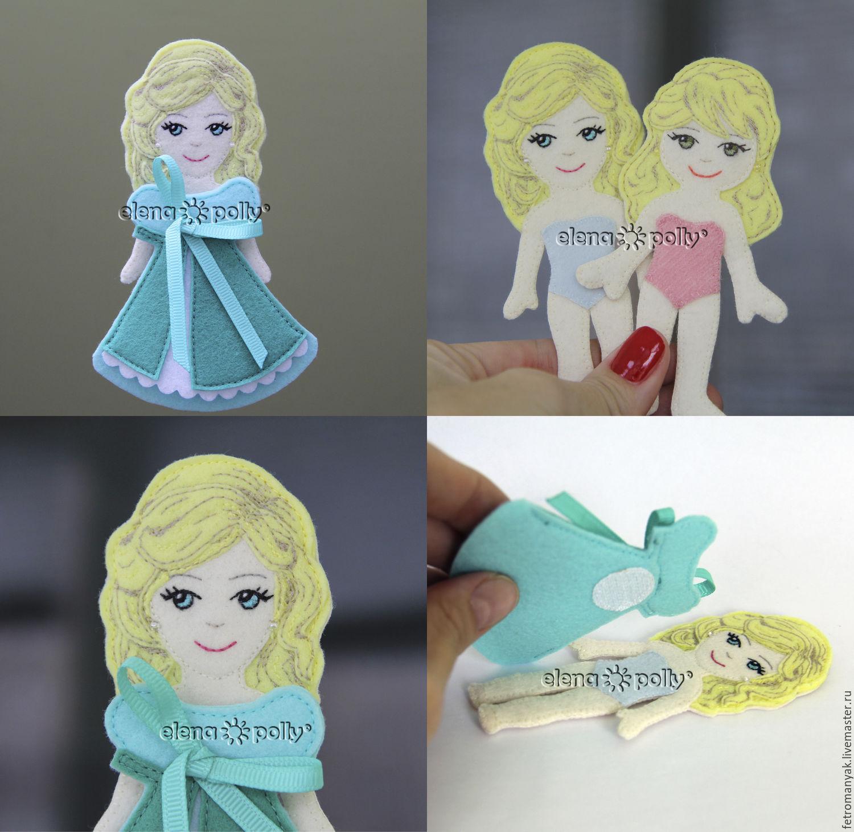 Как сделать куклу из фетра своими руками 4