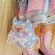Коллекционные куклы ручной работы. Заказать Adeliss.... Олеся Смольская. Ярмарка Мастеров. Кукла текстильная, куклы и игрушки, ленты атласные