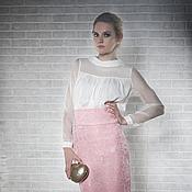 Одежда ручной работы. Ярмарка Мастеров - ручная работа Блузка шёлковая Ashley. Handmade.