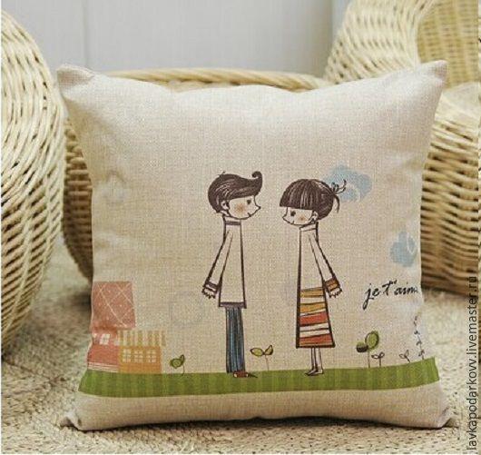 Романтические подушки для любимых