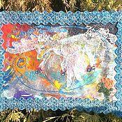 """Фен-шуй и эзотерика ручной работы. Ярмарка Мастеров - ручная работа Эзотерическая картина (ЭИ)  """"Попытка поймать пегаса вдохновения"""". Handmade."""