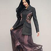 Одежда handmade. Livemaster - original item Elegant suit with embroidery