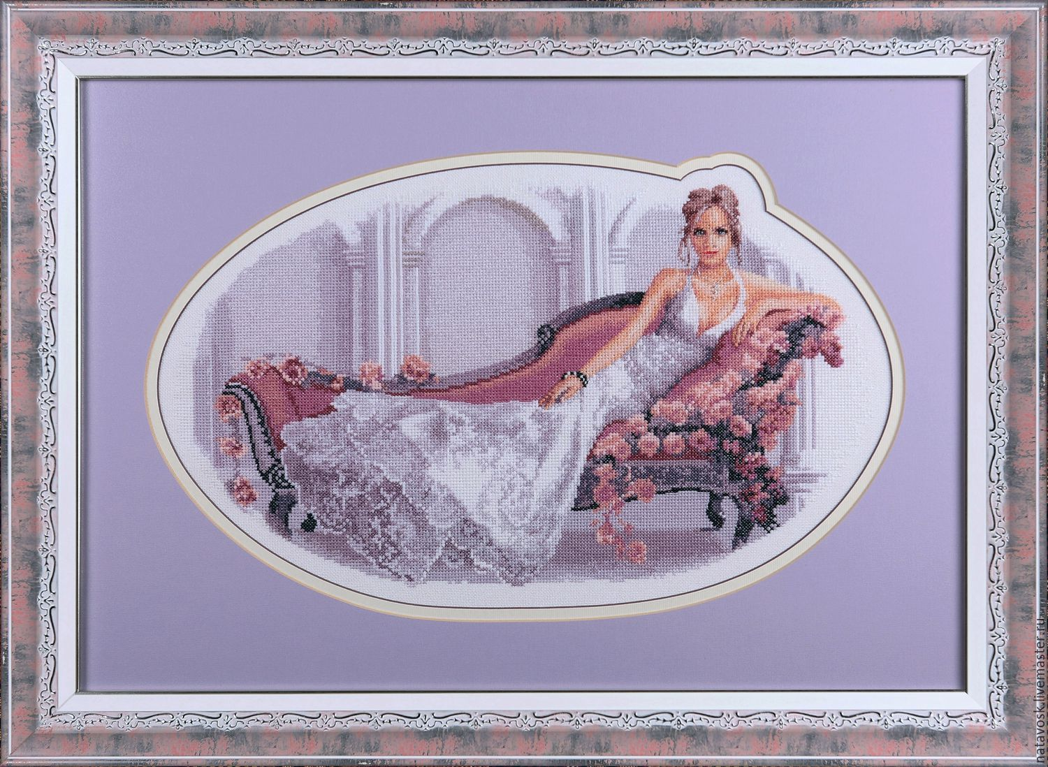 Cross stitch Elegance series from Heritage by Jonh Clayton, Pictures, Rostov-on-Don,  Фото №1