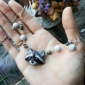 Украшения handmade. Livemaster - original item Raccoon pendant (pendant raccoon pendant with raccoon jewelry raccoon). Handmade.