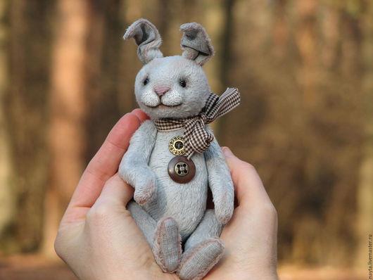 Мишки Тедди ручной работы. Ярмарка Мастеров - ручная работа. Купить Жан. Handmade. Серый, купить тедди, teddy, шплинты