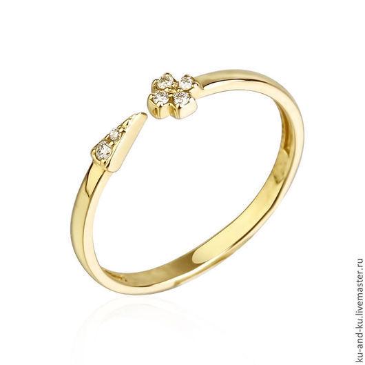 Кольца ручной работы. Ярмарка Мастеров - ручная работа. Купить Фаланговое кольцо малое. (KU&KU). Handmade. Ку-энд-ку