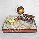 Букеты ручной работы. Ярмарка Мастеров - ручная работа. Купить Букет из конфет, композиция из конфет для путешественника. Handmade. Карты, путешественник
