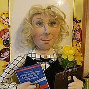 Куклы и игрушки ручной работы. Ярмарка Мастеров - ручная работа Портретная кукла подарок руководителю. Handmade.