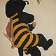 Одежда ручной работы. Комбинезон Пчелка. Юлия (dakata). Интернет-магазин Ярмарка Мастеров. В полоску, карнавальный костюм, для мальчика