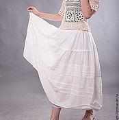 """Одежда ручной работы. Ярмарка Мастеров - ручная работа Бохо-юбка"""" Лита"""". Handmade."""