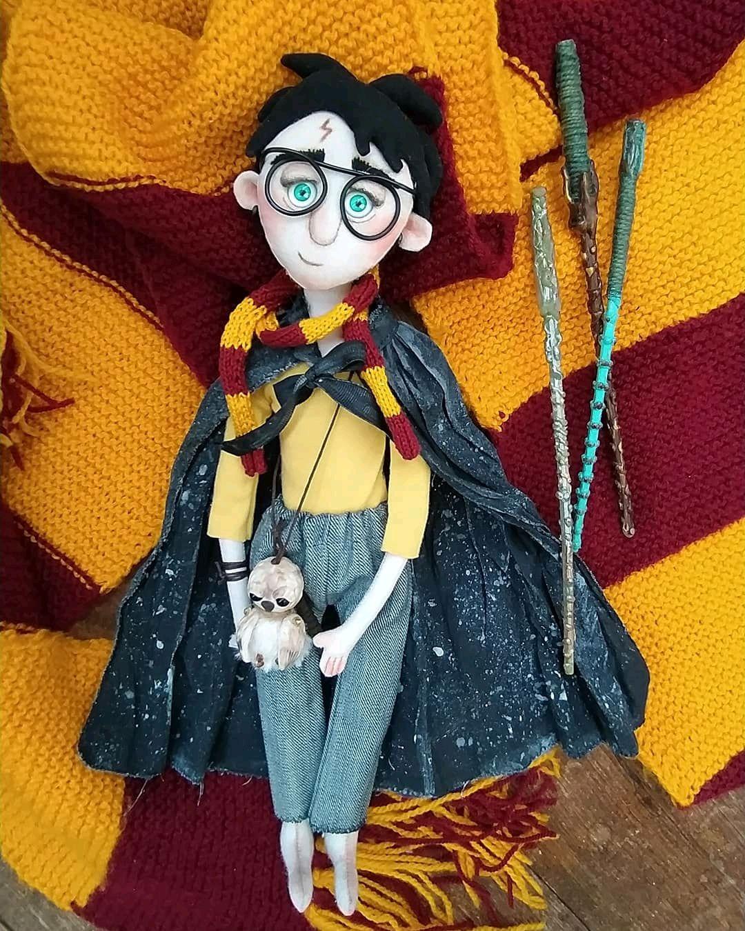 Гарри Поттер. Текстильная кукла. Портретная кукла, Портретная кукла, Пенза,  Фото №1