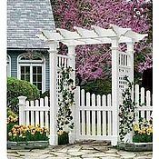 Для дома и интерьера handmade. Livemaster - original item PERGOLA WITH GATE. Handmade.