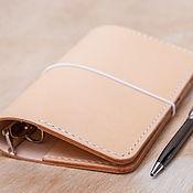 Канцелярские товары handmade. Livemaster - original item Notebook on rings with pockets (21h14,5, 20)  colors. Handmade.