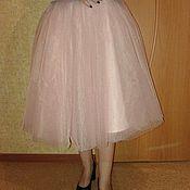 Одежда ручной работы. Ярмарка Мастеров - ручная работа Пудровая юбка -пачка. Handmade.