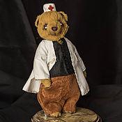 Куклы и игрушки ручной работы. Ярмарка Мастеров - ручная работа Мишка тедди. Доктор.. Handmade.