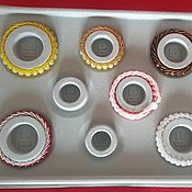 Органайзеры ручной работы. Ярмарка Мастеров - ручная работа Органайзеры: Измеритель размера для браслетов. Handmade.
