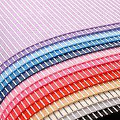 Материалы для творчества ручной работы. Ярмарка Мастеров - ручная работа Фетр в полоску 1 мм 30х30 см 20 цветов. Handmade.