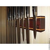 Для дома и интерьера ручной работы. Ярмарка Мастеров - ручная работа Магнитный держатель для ножей. 450 мм.. Handmade.