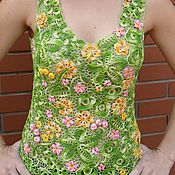 """Одежда ручной работы. Ярмарка Мастеров - ручная работа блузка """" Весеннее настроение"""". Handmade."""