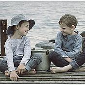 Работы для детей, ручной работы. Ярмарка Мастеров - ручная работа Северное лето. Handmade.