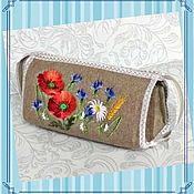 handmade. Livemaster - original item Cosmetic bag organizer