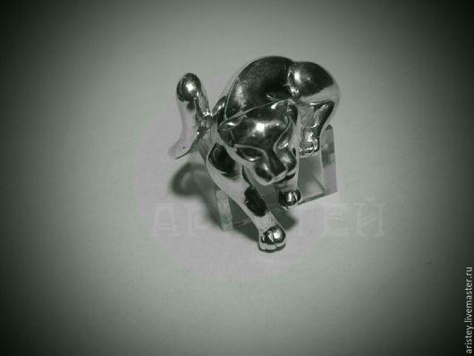 """Кольца ручной работы. Ярмарка Мастеров - ручная работа. Купить Кольцо """"Wild cat"""". Handmade. Пантера, кольцо"""
