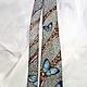 Ties & Bow Ties handmade. Tie men's silk batik 'morpho butterflies'. Kenaz silk (KENAZ). Online shopping on My Livemaster.