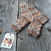 Работы для детей, handmade. Livemaster - original item Children`s knitted socks Spike. Handmade.