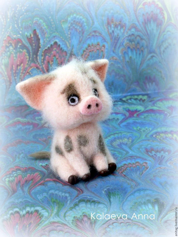 Поросенок Пуа из Моаны, Мягкие игрушки, Ижевск,  Фото №1