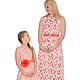 Платья ручной работы. Ярмарка Мастеров - ручная работа. Купить Одинаковые платья кружевные, комплект. Handmade. Ярко-красный