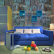 Дизайн и реклама ручной работы. Ярмарка Мастеров - ручная работа дизайн детской. Handmade.