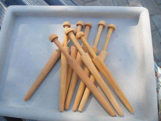 Другие виды рукоделия ручной работы. Ярмарка Мастеров - ручная работа. Купить Коклюшки для кружевоплетения. Handmade. Коричневый, Кружевоплетение