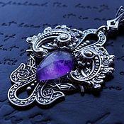 Украшения handmade. Livemaster - original item Suspension Vita Purple amethyst. Handmade.