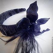 Украшения ручной работы. Ярмарка Мастеров - ручная работа Ободок для волос Чикаго. Handmade.