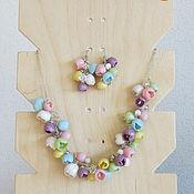Украшения ручной работы. Ярмарка Мастеров - ручная работа Весенний цвет. Handmade.