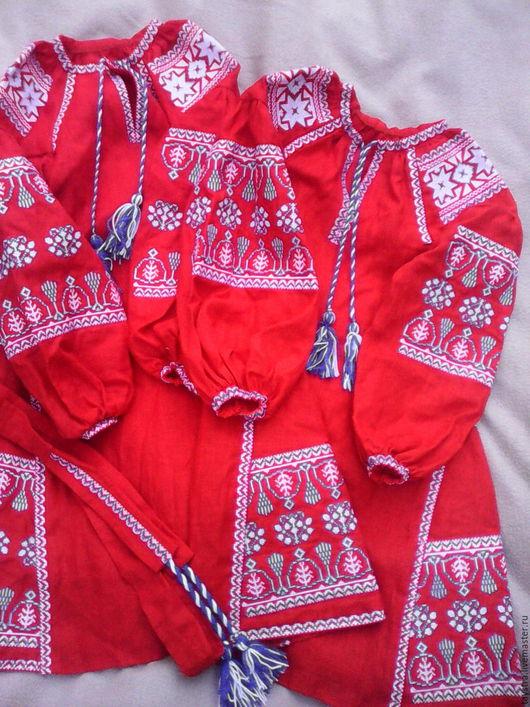 Одежда для девочек, ручной работы. Ярмарка Мастеров - ручная работа. Купить Детское платье вышитое, бохо, этно стиль Вита Кин, Bohemian. Handmade.