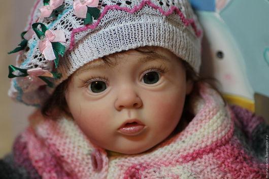 Куклы-младенцы и reborn ручной работы. Ярмарка Мастеров - ручная работа. Купить Кукла реборн Татка.. Handmade. Бежевый, матварниш
