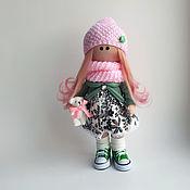 Куклы и пупсы ручной работы. Ярмарка Мастеров - ручная работа Кукла текстильная интерьерная ручной работы Сандра. Handmade.