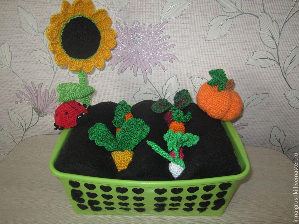 Овощная грядка, Мягкие игрушки, Барнаул,  Фото №1
