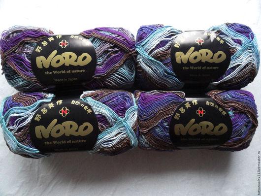 Вязание ручной работы. Ярмарка Мастеров - ручная работа. Купить Пряжа Noro Taiyo Sock № 36. Handmade.