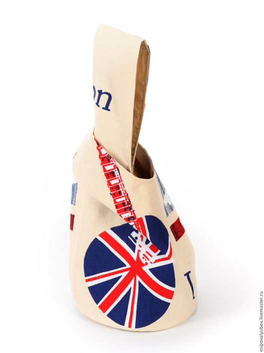 """Женские сумки ручной работы. Ярмарка Мастеров - ручная работа. Купить Японский мешочек """"Я с гитарой"""". Handmade. Сумка женская"""