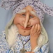 Куклы и игрушки ручной работы. Ярмарка Мастеров - ручная работа Снежная Баба Яга. Handmade.