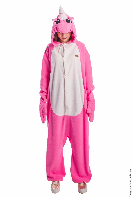 Copy of Unicorn Kigurumi - Custom Handmade - Anti-pill Fleece Pyjamas, Suits, Magnitogorsk,  Фото №1