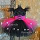 Одежда для девочек, ручной работы. Ярмарка Мастеров - ручная работа. Купить Пышное платье для девочки Фея. Handmade. Фуксия