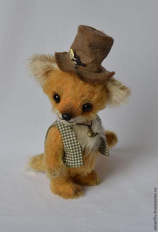 Мишки Тедди ручной работы. Ярмарка Мастеров - ручная работа. Купить Лукас. Handmade. Лисенок тедди, лиса в подарок