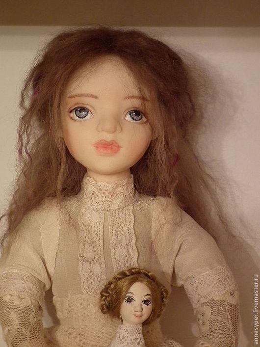 Коллекционные куклы ручной работы. Ярмарка Мастеров - ручная работа. Купить Волшебные грезы.Элиза. Handmade. Бежевый, подарок